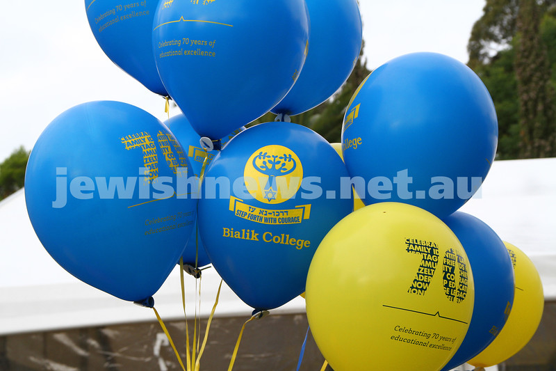 3-6-12. Bialik College 70th. Photo: Peter Haskin