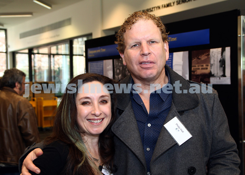 3-6-12. Bialik College 70th. Adrianne Sloan, Philip Hall. Photo: Peter Haskin