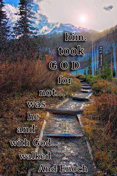 And Enoch walked with God...