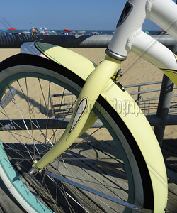 Retro Bike at the Beach