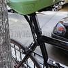 Green Bike Seat