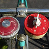 Exercise bicycle timer