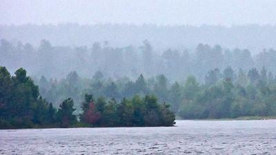 Stormy afternoon at Big Bay Lake