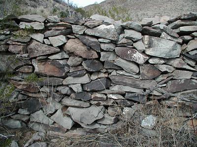 APACHE CANYON Stonework detail