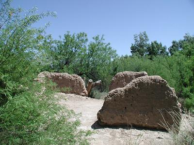 RIO GRANDE VILLAGE Daniels Ranch adobe ruins