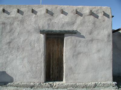 CASTOLON HISTORIC DISTRICT Ranger Station wall study