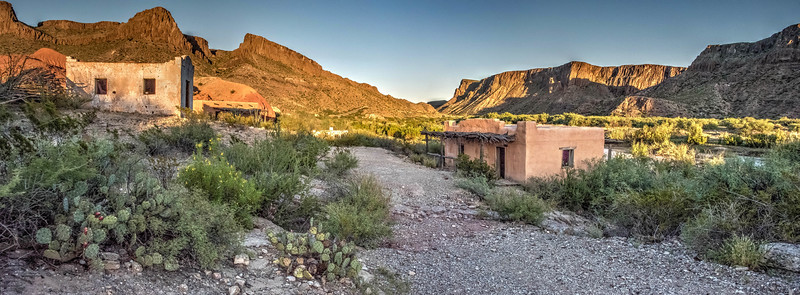Contrabando at Big Bend Ranch State Park