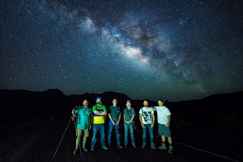 The starscape workshop group