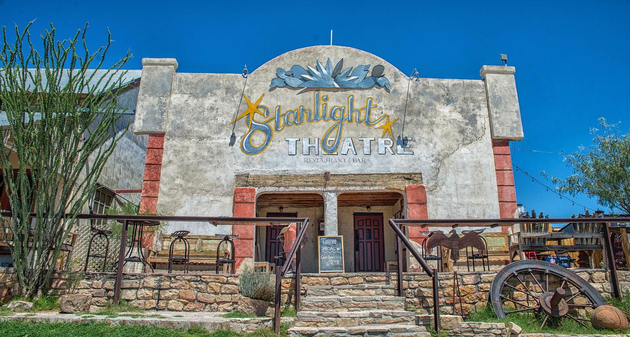 The Starlight Theatre, Terlingua