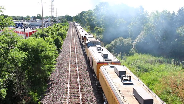 VIDEO -- But That Train Keeps a-rollin'...