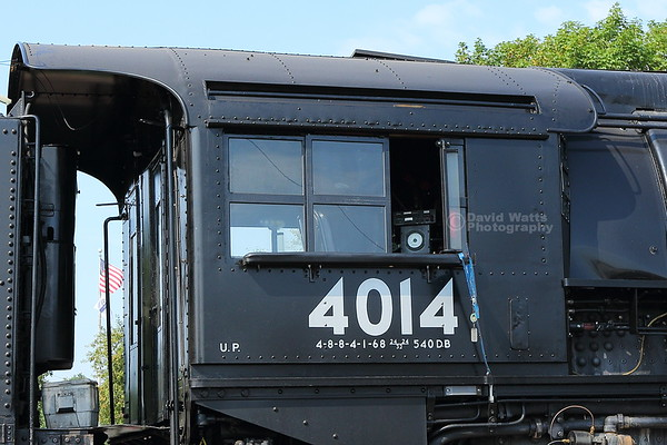 Big Boy 4014 Engineer's Cab