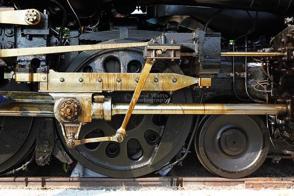 Big Boy Detail 67 inch Diameter Drive Wheels