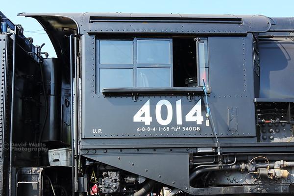 Big Boy 4014 Engineer's Cab