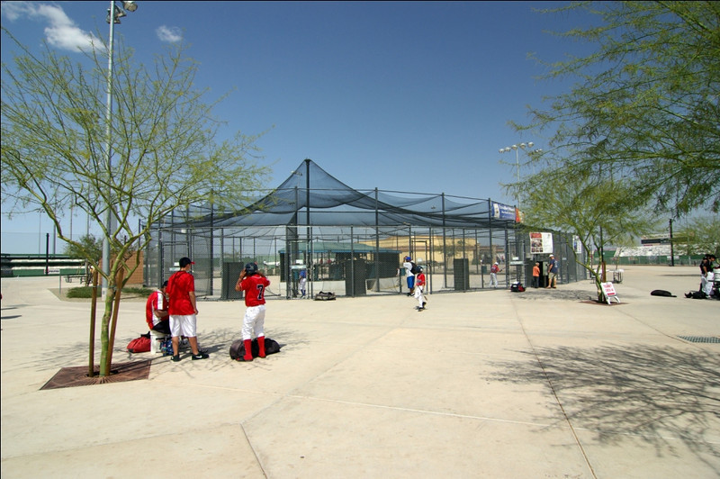 Big League Dreams  Batting Cage