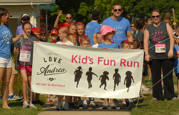 For the Love of Andrea Kid's Fun Run.