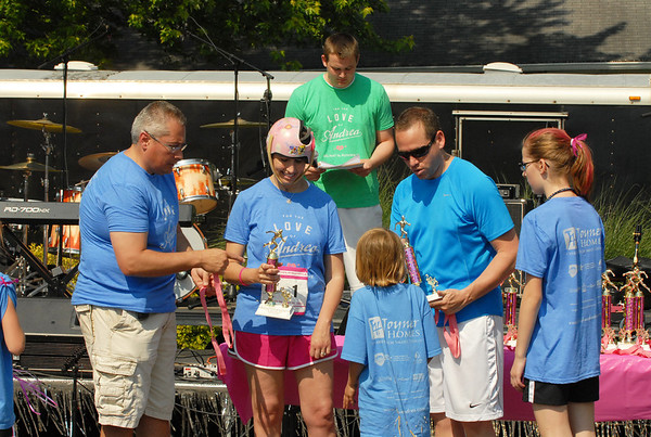 Awards are presented following the Big May 5K.