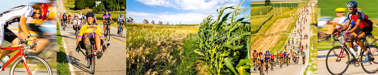 A few photos from older years of shooting RAGBRAI