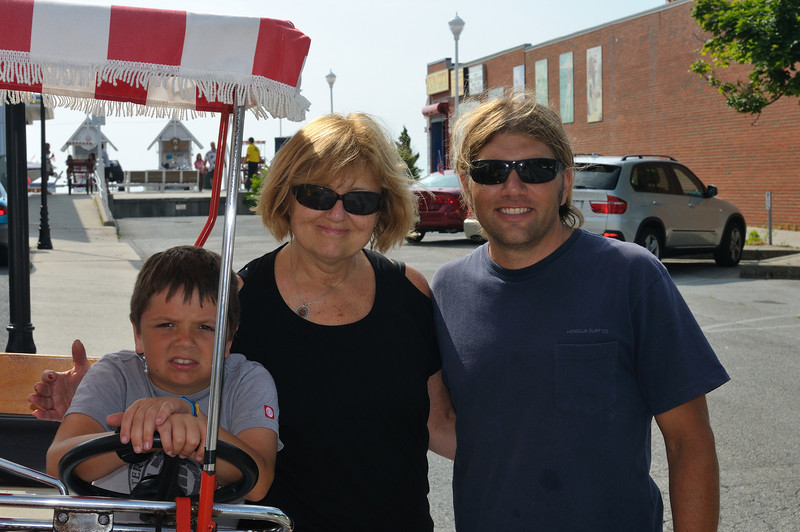 My Good friend Todd and his Mom took a surrey ride this morning. 6/16/10
