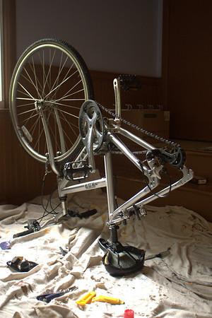 bike repair, 2009