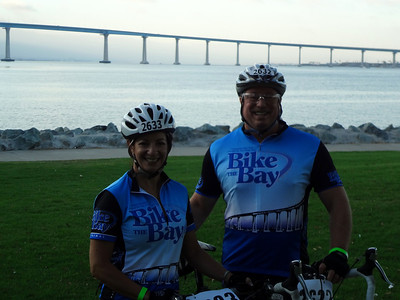 Bike the Bay 26 Mile Family Cycle Ride, San Diego CA August 26, 2012