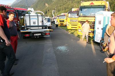Bilder Unfall Interlaken 26.06.2010
