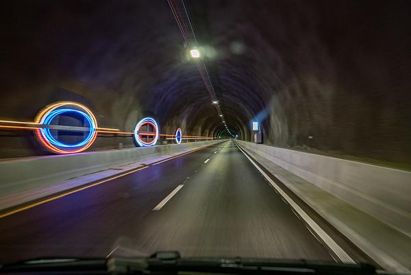 Tunnelkunst, Ryfast tunnelen