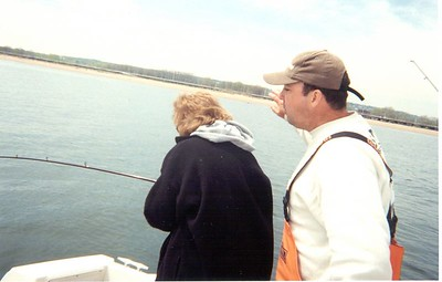 Bill Mom Deb Flounder Fishing May 3rd