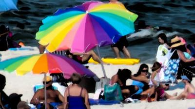 Fourth of July at Orange Beach, Alabama