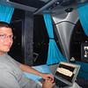 Geeking on a bus from Argentina to Paraguay.