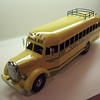 Custom Smith Miller Lmack School Bus.  This school bus was modeled after a Mack School Bus that was found with an internet search.  The decals indicated Peoria Public School and the roof rack is valid.  This is a beautifully done school bus done in aluminum.  The Lmack truck has not been modified forward of the firewall.  Your choice of decals. The bus has an interior with rows of seats.