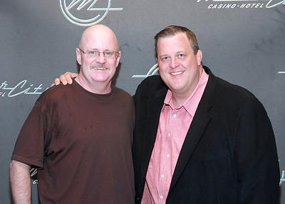 Billy Gardell at MotorCity Casino