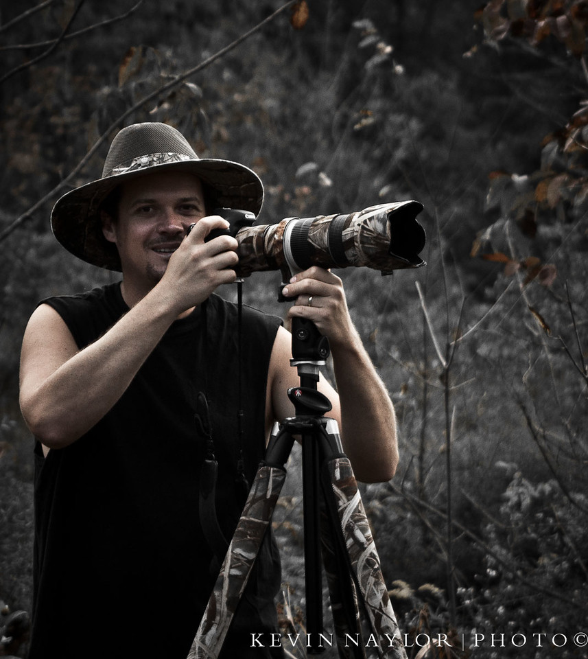 A quick shot my daughter got of me while photographing a Green Heron at Pistol Creek Wetlands in Maryville TN.