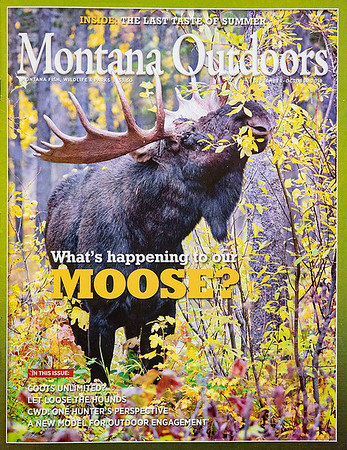 Montana Outdoors magazine cover Fall 2019