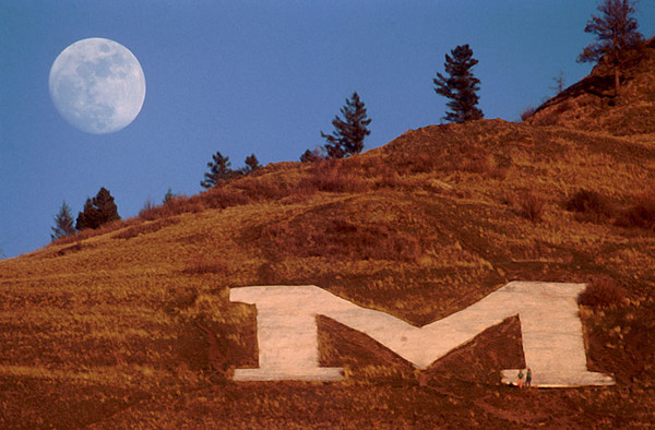 """M"" for Moon, or Missing Much sleep"