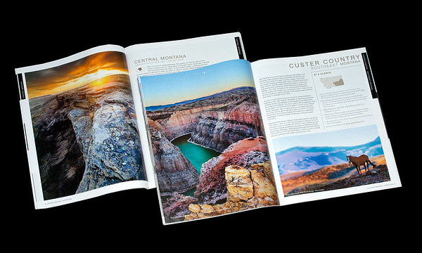 Montana (Tourists') Guide feature pages