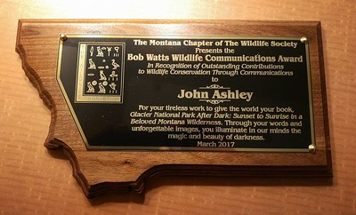 Wildlife Society Award
