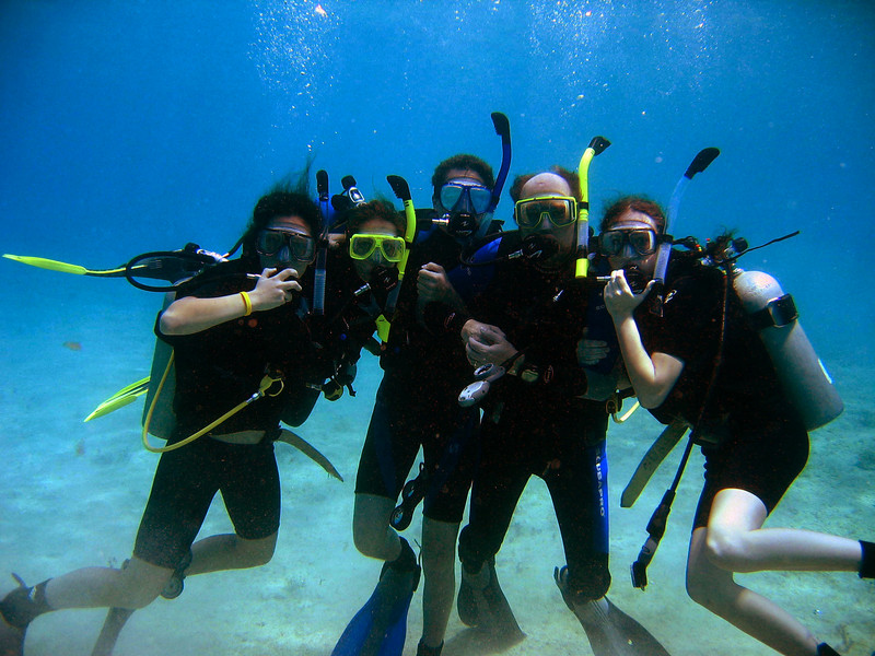 We are an adventurous family and love to do many different activities together.