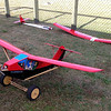 """Yes, it actually flies.... very slowly. Fulfilling Wilbur Wright's dictum """"Give me enough power and I will make a barn door fly."""""""
