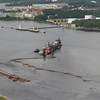 Dredging in the Stl. Johns River.