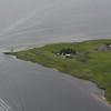 Southern point of Quarantine Island (I think).