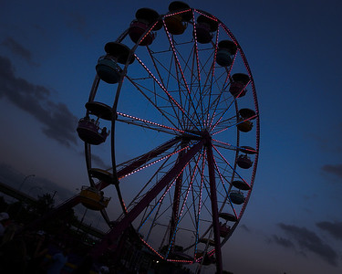 Twilight Ferris Wheel