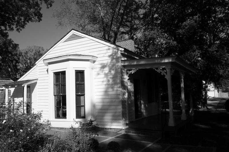 This is the cottage where Helen was born.