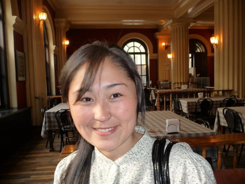 My (adopted) Kyrgyz sister, Aida.
