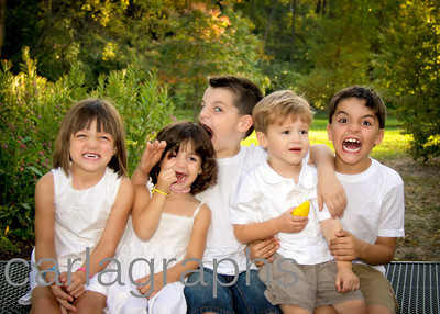 Five Kids Crazy Fun-