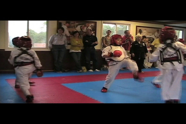 Black Belt test 06-11-2011