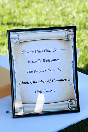 Black Chamber Business Relations Golf Classic '07