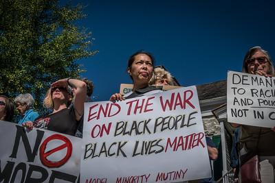 Black Lives Matter New Paltz 9-25-16