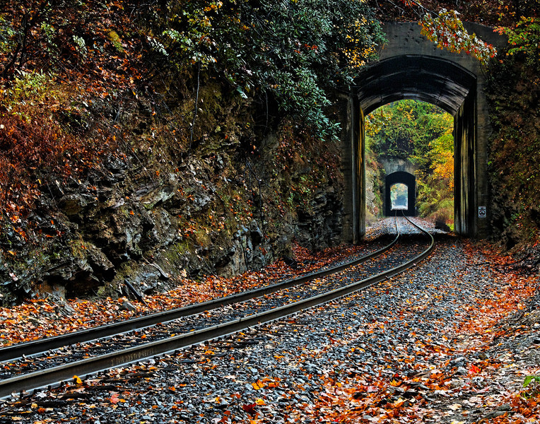 Black Mountain Train Tunnels
