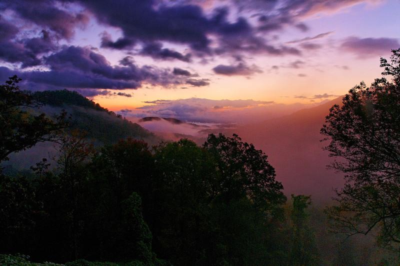 Black Mountain Sunrise III