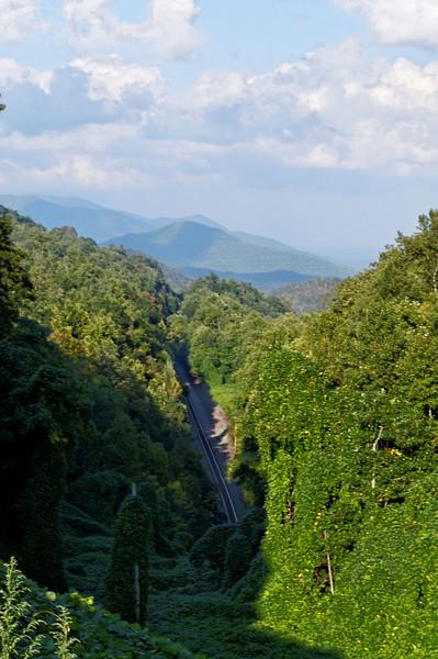 Black Mountain Train Path